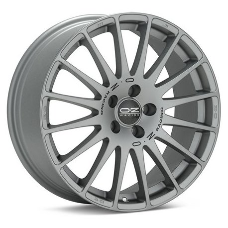 SUPERTURISMO GT Grigio Corsa Black Let